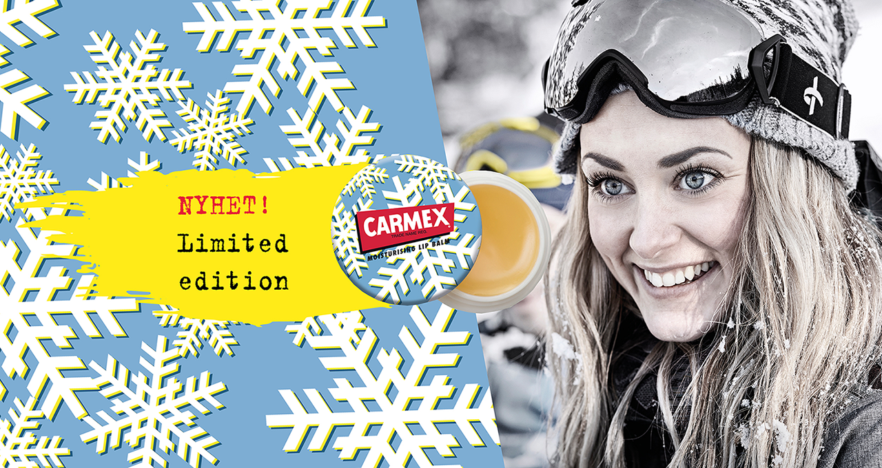 NYHET! Carmex Limited Winter Edition.
